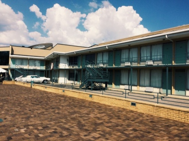 Motel where MLK was killed.